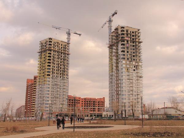 Ход строительных работ на площадке ЖК Параллели на Пушкина 32 2016.04.05